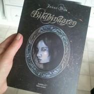 The finished book Bildbindaren (2012)