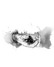 Inside illustration from Bildbindaren (2012)