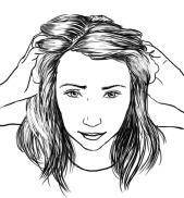 Technical illustration for skin care and beauty series, Kauneus & Terveys magazine March 2014