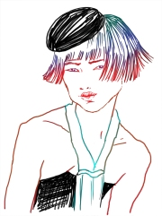 Fashion illustration 2010