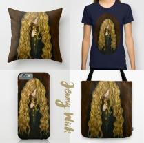 Goldilocks print products (2015)