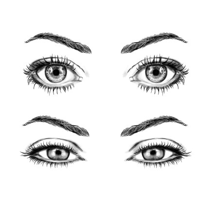 Shapes of eyes, for the company Cailap Oy (2017)