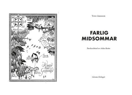 Easy to read adaptation of Farlig midsommar - Lärum förlag 2017