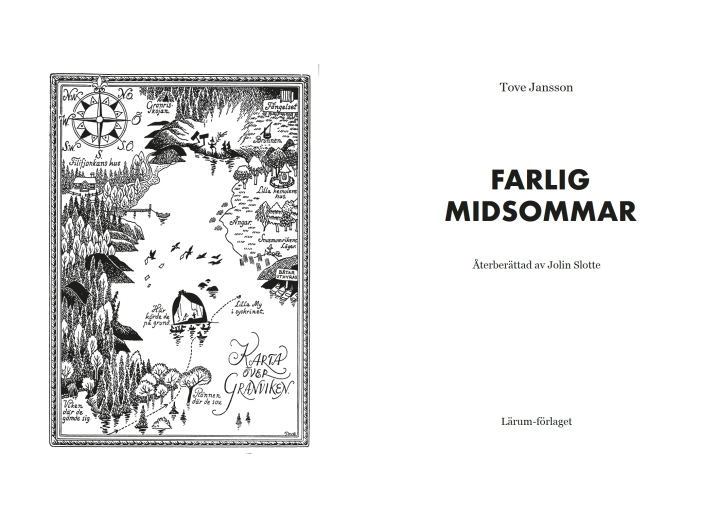 Easy to read adaptation of Farlig midsommar - Lärum förlag 2017