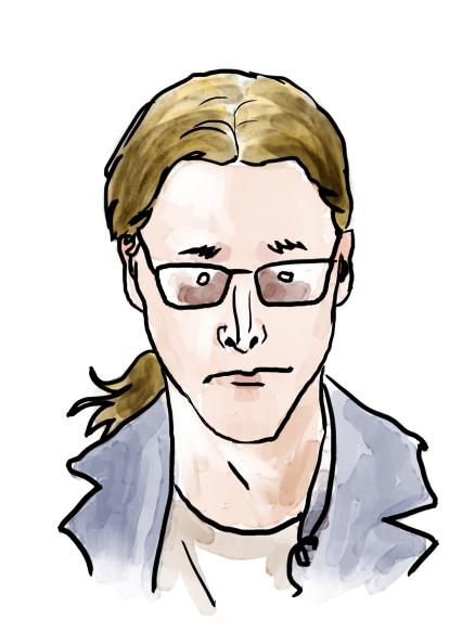 "Portrait for a blog ""Lille John"" (2014)"
