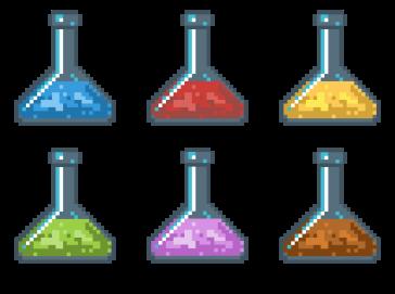 Test tubes (X-libris 2016-2017)