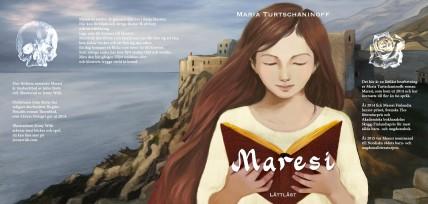 Cover for Maresi, easy to read edition, Lärum förlag 2016.